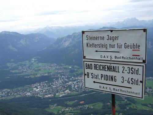 Foto: hofchri / Wandertour / Hochstaufen (1771 m) über Steinerne Jäger (I+) / Abstieg Steinerne Jäger / 09.06.2011 21:46:24
