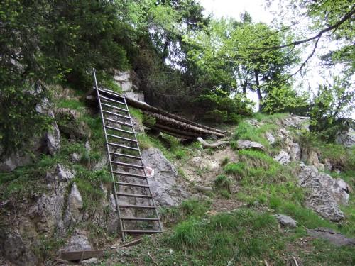 Foto: hofchri / Wandertour / Hochstaufen (1771 m) über Steinerne Jäger (I+) / ein bischen Klettersteig gibts doch noch / 09.06.2011 21:49:56