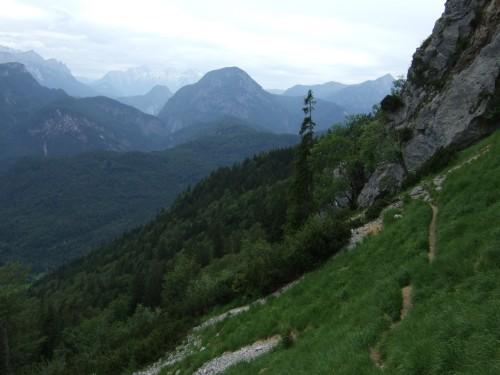 Foto: hofchri / Wandertour / Hochstaufen (1771 m) über Steinerne Jäger (I+) / gemütlicher Quergang / 09.06.2011 21:40:35