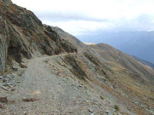 Foto: hofchri / Mountainbiketour / Strickberg (2553 m) und Marchkinkele (2545 m) von Winnebach / Grenzkammstraße zur Hochrast auf 2400 m / 19.06.2011 22:04:12