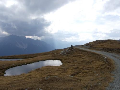 Foto: hofchri / Mountainbiketour / Strickberg (2553 m) und Marchkinkele (2545 m) von Winnebach / gigantische Stimmung / 19.06.2011 22:04:32