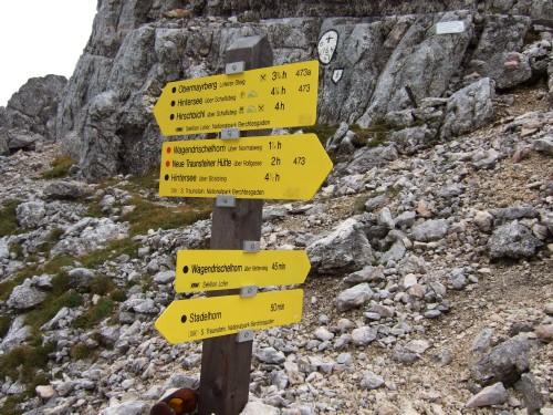 """Foto: hofchri / Klettersteigtour / Wagendrischlhorn (2252 m) über """"Wagendrischlhorn-Klettersteig"""" / auf der Mayrbergscharte / 29.06.2011 22:29:54"""