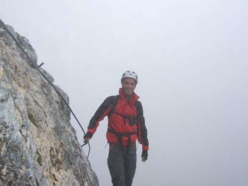 """Foto: hofchri / Klettersteigtour / Wagendrischlhorn (2252 m) über """"Wagendrischlhorn-Klettersteig"""" / weiter gehts / 29.06.2011 22:30:24"""