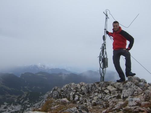 """Foto: hofchri / Klettersteigtour / Wagendrischlhorn (2252 m) über """"Wagendrischlhorn-Klettersteig"""" / am Wagendrischlhorn / 29.06.2011 22:31:09"""