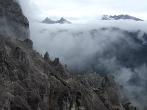 """Foto: hofchri / Klettersteigtour / Wagendrischlhorn (2252 m) über """"Wagendrischlhorn-Klettersteig"""" / sehr vernebelte Angelegenheit / 29.06.2011 22:27:11"""