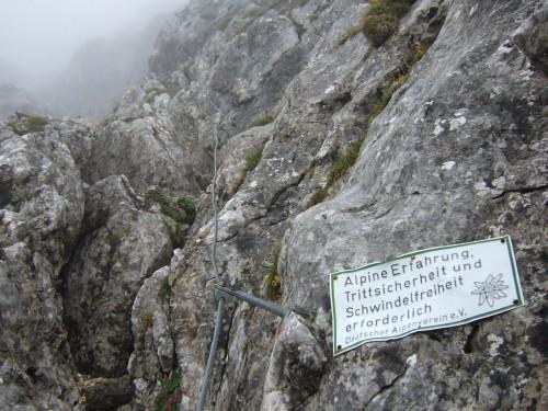 """Foto: hofchri / Klettersteigtour / Wagendrischlhorn (2252 m) über """"Wagendrischlhorn-Klettersteig"""" / Stellen B, meist um A - große Steinschlaggefahr! / 29.06.2011 22:28:13"""