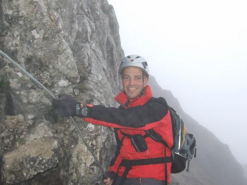 """Foto: hofchri / Klettersteigtour / Wagendrischlhorn (2252 m) über """"Wagendrischlhorn-Klettersteig"""" / teilweise vereist / 29.06.2011 22:28:33"""