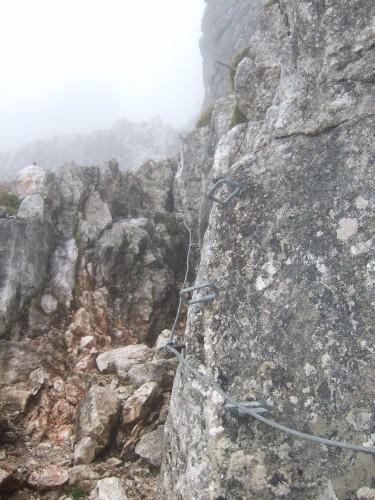 """Foto: hofchri / Klettersteigtour / Wagendrischlhorn (2252 m) über """"Wagendrischlhorn-Klettersteig"""" / künstliche Tritthilfen / 29.06.2011 22:28:54"""