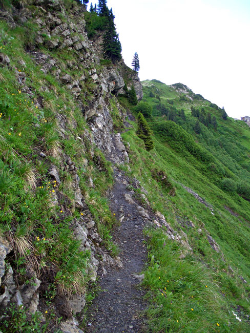 Foto: vince 51 / Wander Tour / Saladinaspitze/Fensterlewand / auf dem Felsensteig / 01.07.2011 22:48:12