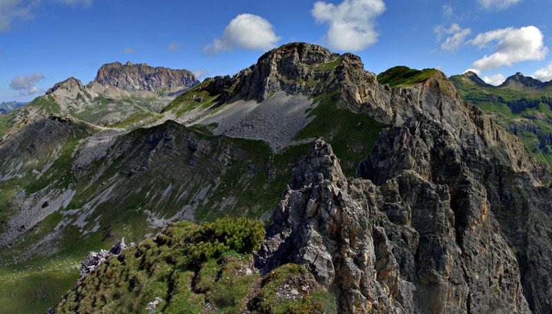 Foto: vince 51 / Wander Tour / Saladinaspitze/Fensterlewand / Rote Wand/ Fensterlewand / 01.07.2011 22:36:36