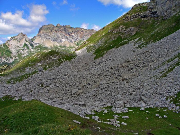 Foto: vince 51 / Wander Tour / Saladinaspitze/Fensterlewand / das Blockfeld / 01.07.2011 22:33:24