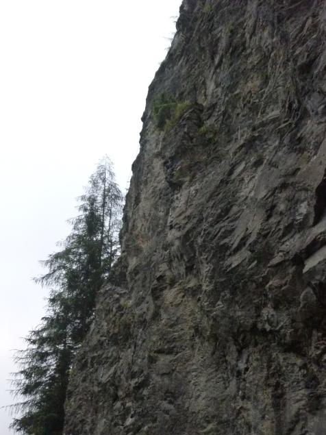 Foto: Manfred Karl / Klettersteigtour / Klammgeist Klettersteig / Am linken Rand des Klettergartens verläuft der Klettersteig / 01.07.2011 22:39:09
