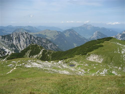 Foto: Zwerg / Wandertour / Gamsfeldrunde von Russbach über Traunwandalm  / 04.08.2011 10:30:24