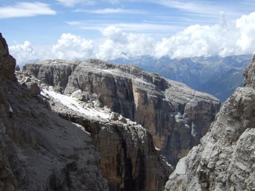 """Foto: hofchri / Klettersteigtour / Brenta-Durchquerung  via """"Sent. Alfredo Benini"""" (Bocchette Weg – I. Etappe, 2905 m) / Dolomiten pur / 19.08.2011 14:18:49"""