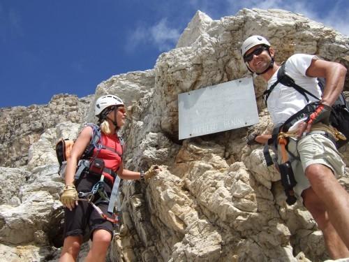 """Foto: hofchri / Klettersteigtour / Brenta-Durchquerung  via """"Sent. Alfredo Benini"""" (Bocchette Weg – I. Etappe, 2905 m) / 19.08.2011 14:21:41"""