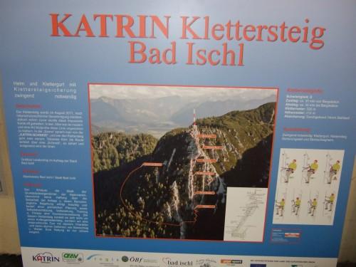Klettersteig Oberösterreich : Alpintouren.com klettersteig tour katrin 1542 m über u201ekatrin