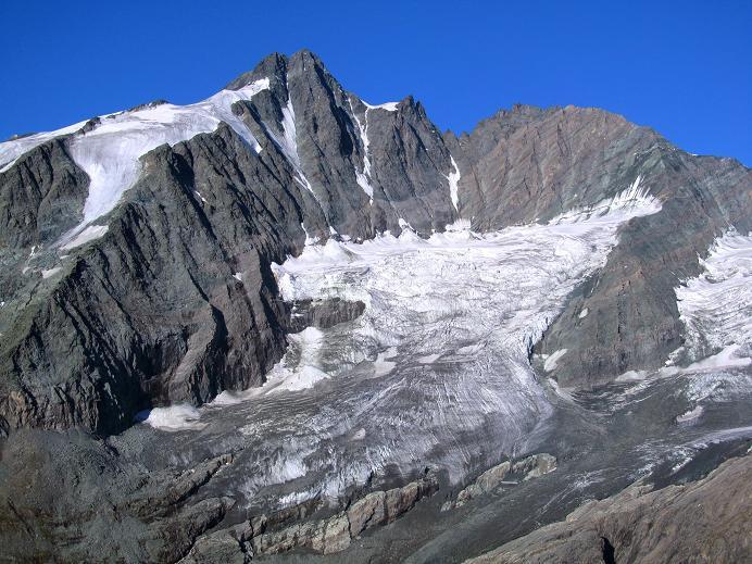 Foto: Andreas Koller / Wandertour / Gletschertour auf den Vorderen Bärenkopf (3250m) / Großglockner (3798m) / 05.09.2011 23:06:37