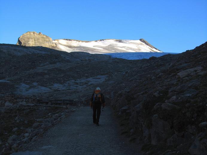 Foto: Andreas Koller / Wandertour / Gletschertour auf den Vorderen Bärenkopf (3250m) / 05.09.2011 23:06:22
