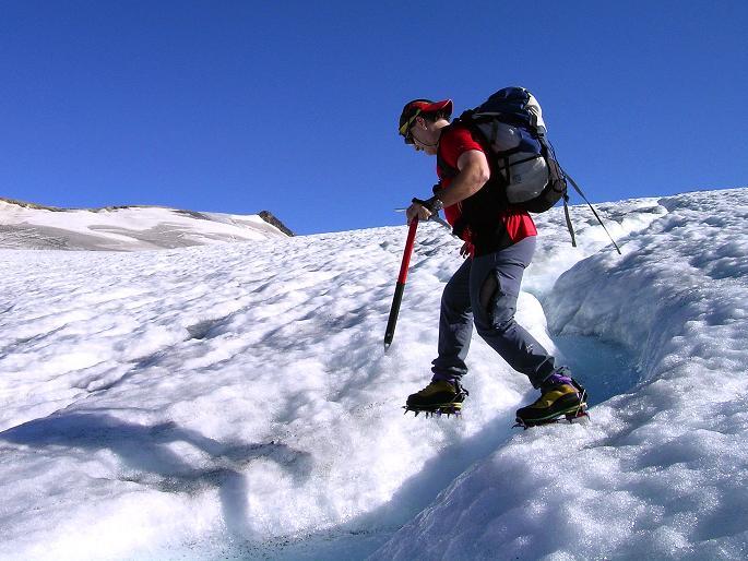 Foto: Andreas Koller / Wandertour / Gletschertour auf den Vorderen Bärenkopf (3250m) / 05.09.2011 23:04:56