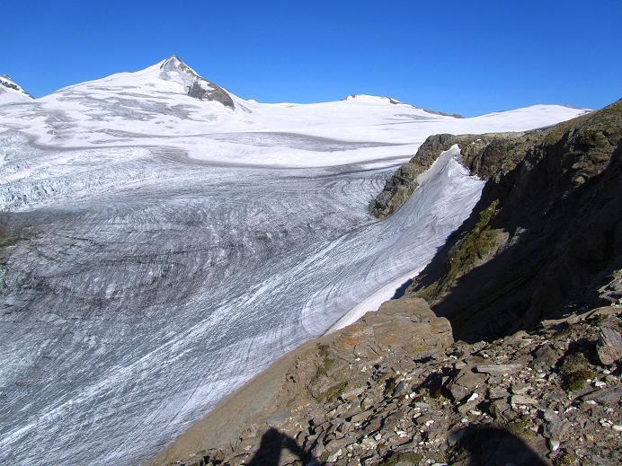 Foto: Andreas Koller / Wandertour / Gletschertour auf den Vorderen Bärenkopf (3250m) / Johannisberg (3463m) / 05.09.2011 23:04:27