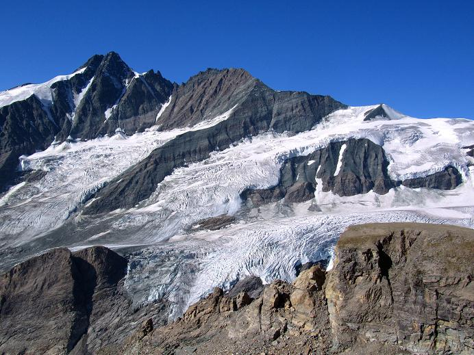 Foto: Andreas Koller / Wandertour / Gletschertour auf den Vorderen Bärenkopf (3250m) / Großglockner (3798m) / 05.09.2011 23:04:02