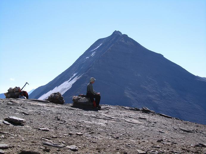 Foto: Andreas Koller / Wandertour / Gletschertour auf den Vorderen Bärenkopf (3250m) / Fuscherkarkopf (3336m) / 05.09.2011 23:00:58