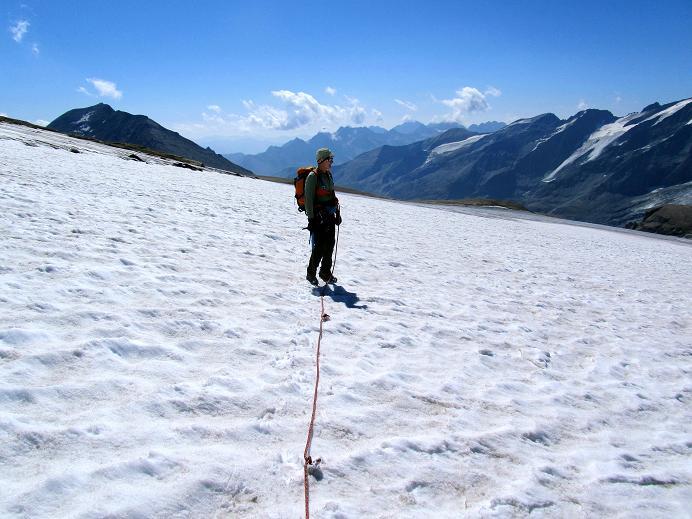 Foto: Andreas Koller / Wandertour / Gletschertour auf den Vorderen Bärenkopf (3250m) / 05.09.2011 22:58:49