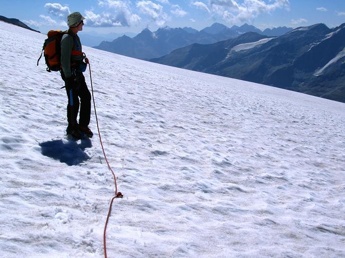 Foto: Andreas Koller / Wandertour / Gletschertour auf den Vorderen Bärenkopf (3250m) / 05.09.2011 22:58:26