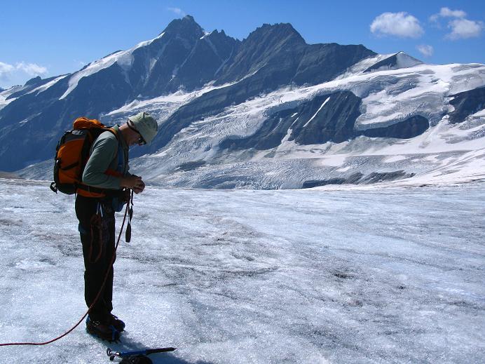 Foto: Andreas Koller / Wandertour / Gletschertour auf den Vorderen Bärenkopf (3250m) / 05.09.2011 22:57:58