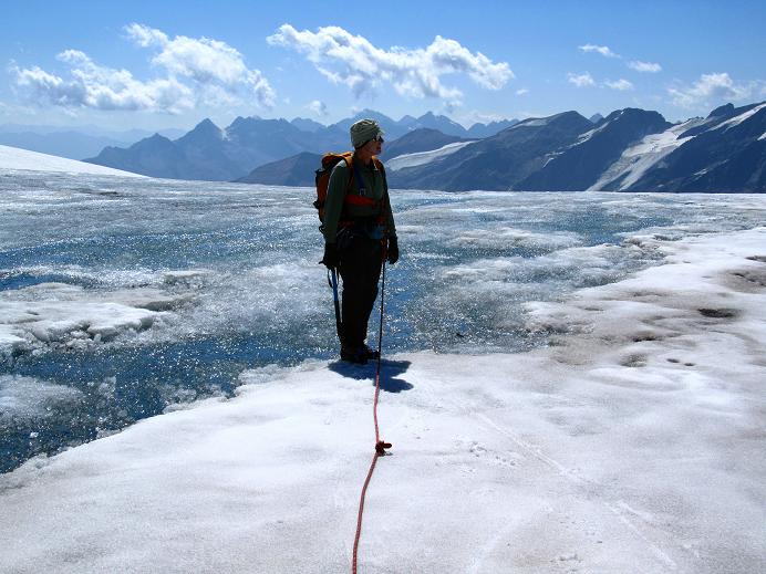Foto: Andreas Koller / Wandertour / Gletschertour auf den Vorderen Bärenkopf (3250m) / 05.09.2011 22:57:50