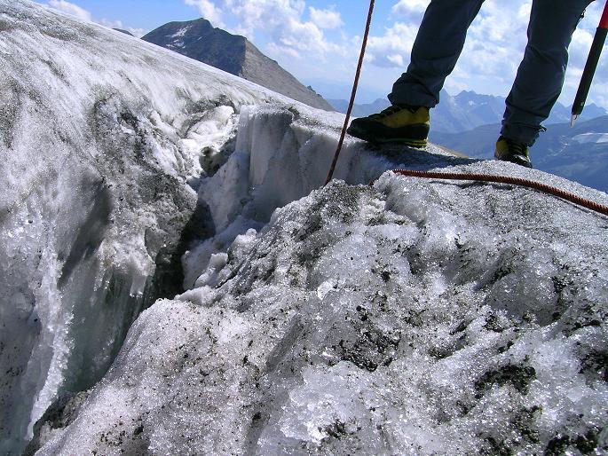 Foto: Andreas Koller / Wandertour / Gletschertour auf den Vorderen Bärenkopf (3250m) / 05.09.2011 22:53:43