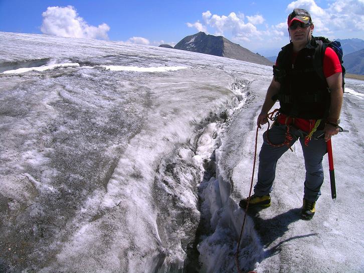 Foto: Andreas Koller / Wandertour / Gletschertour auf den Vorderen Bärenkopf (3250m) / 05.09.2011 22:53:20