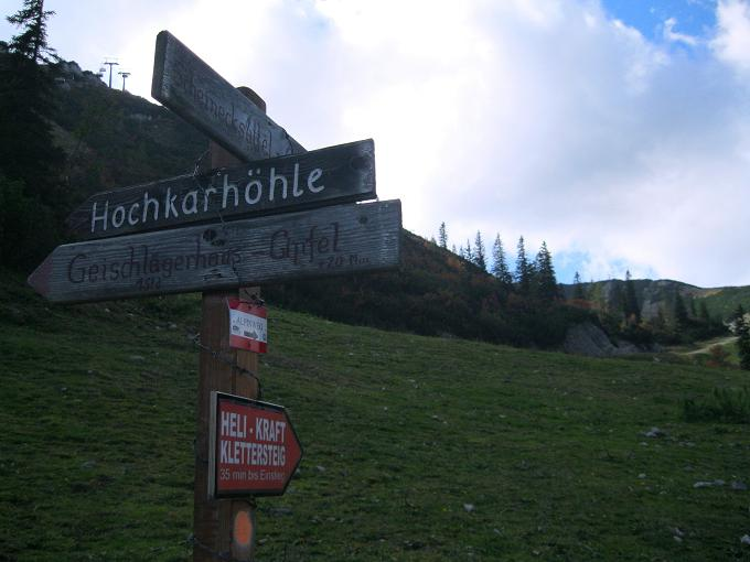 Klettersteig Ybbstaler Alpen : Alpintouren klettersteig tour heli kraft