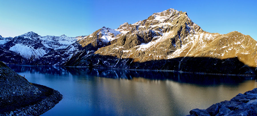 Foto: vince 51 / Wander Tour / Kraspesspitze  / Blick vom Staudamm nach Süden / 31.10.2011 21:08:58