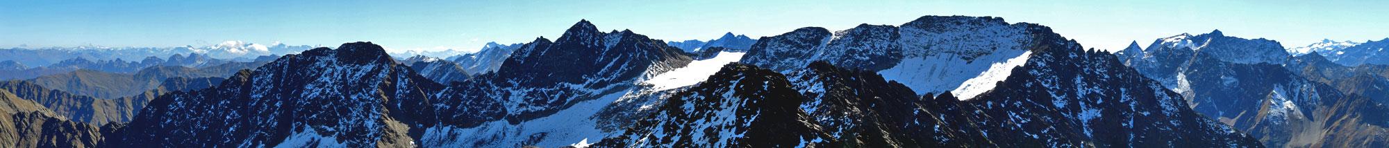 Foto: vince 51 / Wander Tour / Kraspesspitze  / Südost-Panorama / 31.10.2011 20:59:58