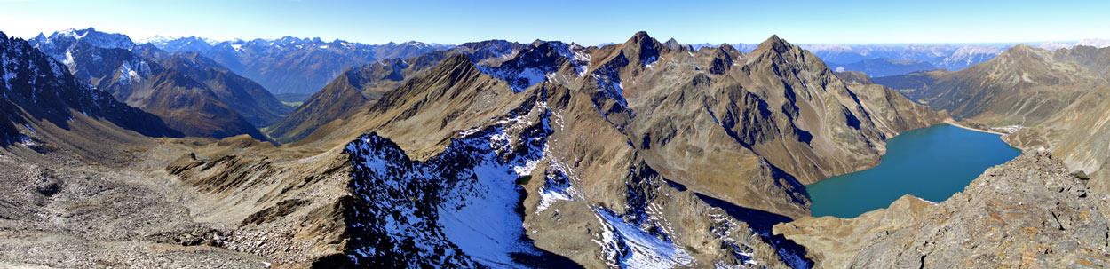 Foto: vince 51 / Wander Tour / Kraspesspitze  / Nordwest-Panorama / 31.10.2011 20:59:25