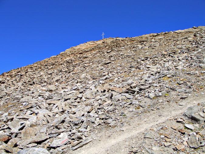 Foto: vince 51 / Wander Tour / Kraspesspitze  / Kraspesspitze, kurz vor erreichen des Südostgrats / 31.10.2011 20:57:55