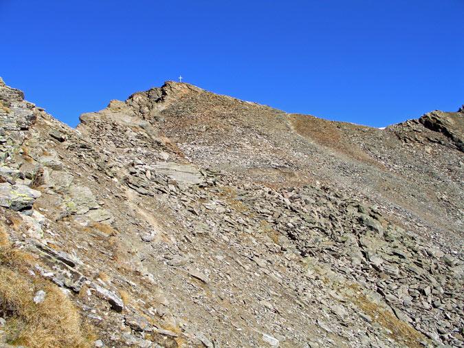 Foto: vince 51 / Wander Tour / Kraspesspitze  / Kraspesspitze, kurz vor der zu querenden Blockhalde / 31.10.2011 20:56:59