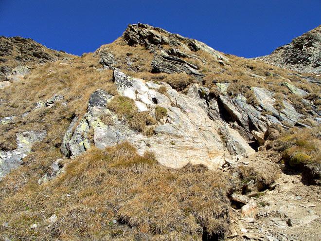 Foto: vince 51 / Wander Tour / Kraspesspitze  / etwas Turnen ist angesagt.  / 31.10.2011 20:53:10
