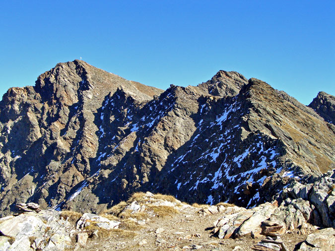 Foto: vince 51 / Wander Tour / Kraspesspitze  / Kraspesspitze vom Schartenkopf / 31.10.2011 20:48:48