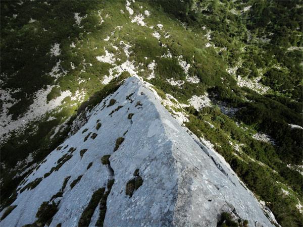 Foto: schrutkaBua / Klettertour / Mitterberg (1916 m) Nord Grat / 3. SL: Kante / 21.11.2011 10:29:07