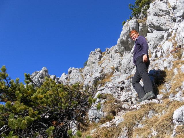 Foto: Wolfgang Lauschensky / Wandertour / Dürreckberg 1785m   / am Gipfelausstieg / 30.11.2011 00:31:15