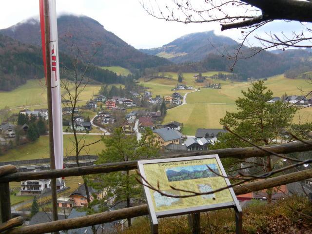 Foto: Wolfgang Lauschensky / Wandertour / Strumberg Überschreitung / Aussichtspunkt Stoawand: Gurlspitze und Gaisberg / 06.12.2011 18:19:06