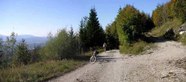 Foto: Wolfgang Lauschensky / Mountainbiketour / Schwarzenberg  1334m / einfache Forststraße / 17.12.2011 13:24:21