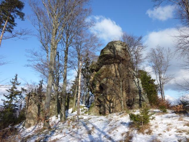 Foto: Manfred Karl / Wandertour / Rundtour Friedrichfelsen - Hoher Stein – Rote Wand / Friedrichfelsen / 28.01.2012 12:13:06