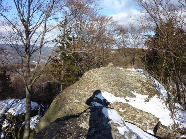Foto: Manfred Karl / Wandertour / Rundtour Friedrichfelsen - Hoher Stein – Rote Wand / Am Friedrichfelsen / 28.01.2012 12:10:19