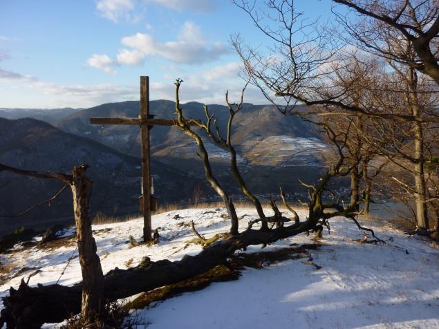Foto: Manfred Karl / Wandertour / Rundtour Friedrichfelsen - Hoher Stein – Rote Wand / 28.01.2012 12:01:26