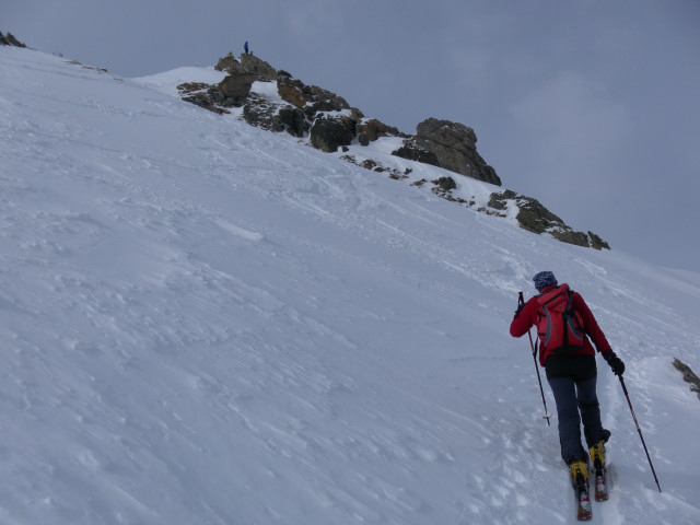 Foto: Wolfgang Lauschensky / Skitour / Lackenspitze 2459m / Gipfelhang / 01.02.2012 17:05:35