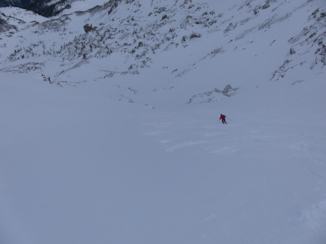 Foto: Wolfgang Lauschensky / Skitour / Lackenspitze 2459m / steile Ostkarabfahrt / 01.02.2012 17:05:03
