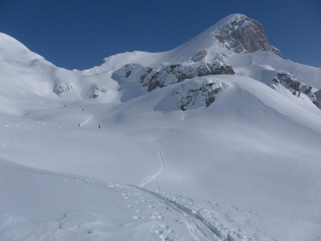 Foto: Wolfgang Lauschensky / Skitour / Scheiblingstein 2197m (hohe Variante aus dem Pyhrgasgatterl) / herrliches Skitourengelände / 23.02.2012 14:54:44